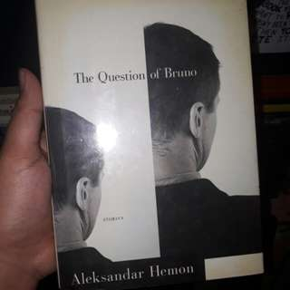 The Question of Bruno by Aleksandar Hemon (hardbound)