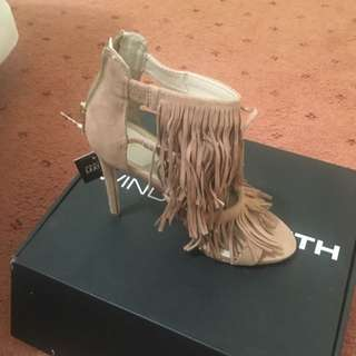 Sand Suede Windsor Smith Heels