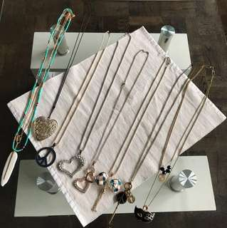 Assorted necklace ($2.50 each or get all for $15)
