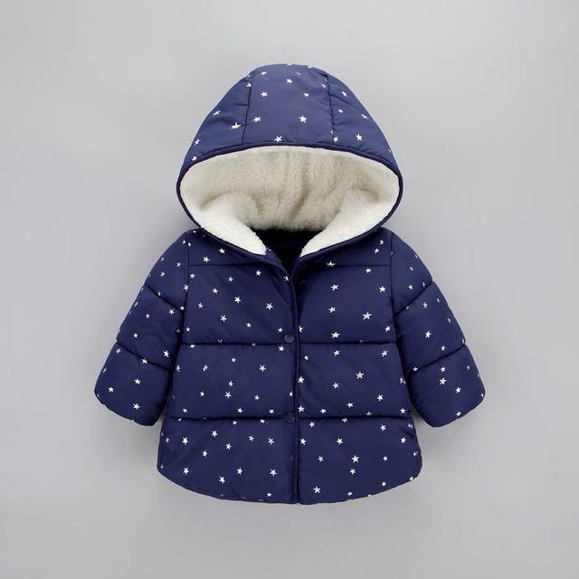 120公分兒童保暖外套