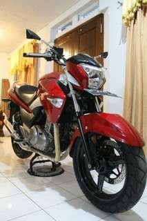 Inazuma 250 Merah 2013