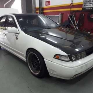 Nissan Cefiro a31 manual 1jz