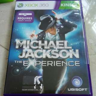 Xbox 360 Game Michael Jackson The Experience