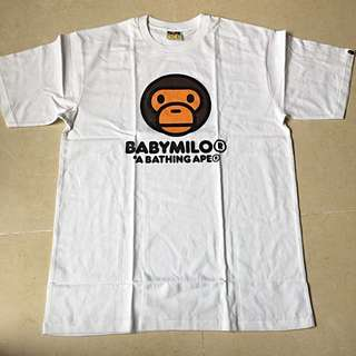 Bathing Ape T shirt XL and L