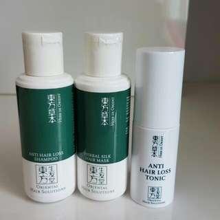 Oriental Hair Solutions Anti Hair Loss Set