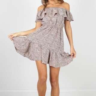 Showpo Off The Shoulder Mini Dress