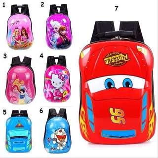 [FREE POSTAGE SM] Kids toddler backpack, school back pack, egg shell beg