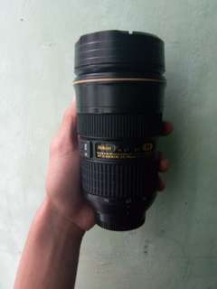 Nikon Zoomable Thermos Cup (Camera lens Cup)