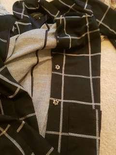 Portmans jacket black and white