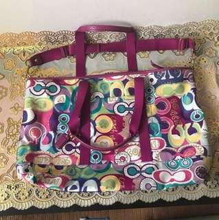 Weekender bag Coach Poppy
