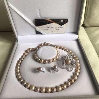 全新泰國南海珍珠套裝 pearl set