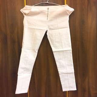 白色長內搭褲