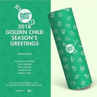 Golden child - 2018 season's greetings