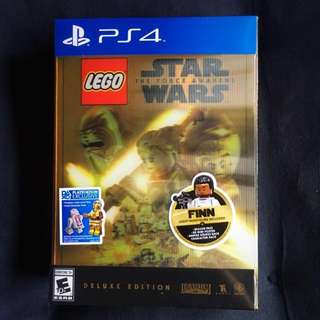 (Brand New) Lego Star Wars: Force Awakens Deluxe Edition PS4 Playstation 4 Game Disc