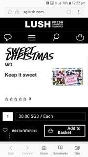 Lush Sweet Christmas