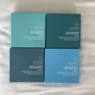 Aspar Aurora Spa Ritual Travel size essentials