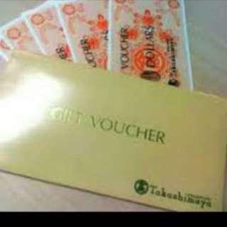 $3000 TAKA Vouchers