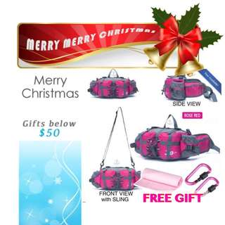 Travel Bag Day Pouch Camping w/ Free Gift