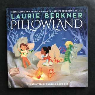 💥NEW-  Award Winning - Pillowland Hard Cover - Laurie Berkner - Children Story Book