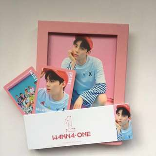 WANNA ONE TO BE ONE ALBUM (PINK) MINHYUN FULL SET