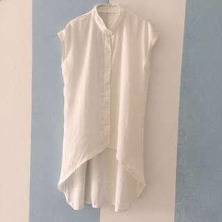 Baju Panjang Putih