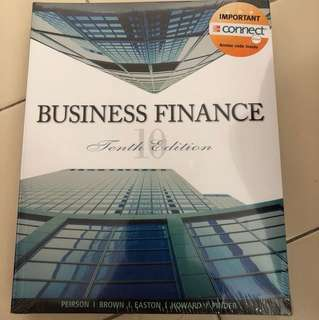 Business Finance 10th Edition, By Peirson Brown