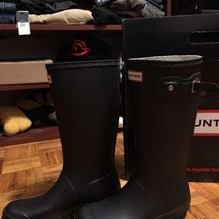Original Kids Hunter boots size 7 women