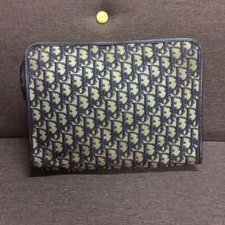 Authentic Vintage Christian Dior Large Clutch