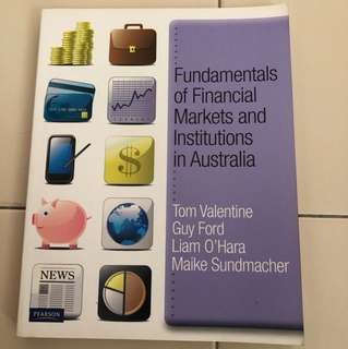 Fundamental of Financial Markets and Institutions in Australia