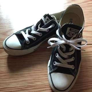 Converse Chuck Taylor All Star Canvas black 黑色帆布鞋