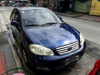 2004 Toyota Altis J Manual