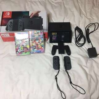 Nintendo Switch + 2games