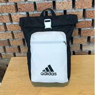 Unisex Adidas Backpack (black/white)-Promo price