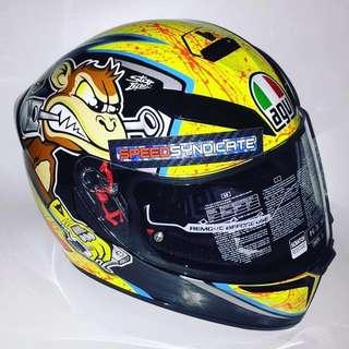 AGV K-3SV Full Face Helmet - Bulega