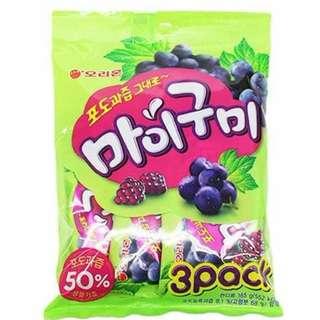 韓國ORION-葡萄軟糖