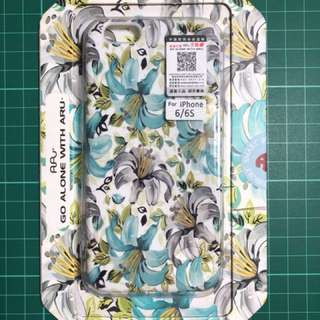iPhone 6s case - Glow in the dark Floral