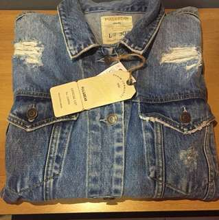 (NEW) Jacket Jeans Pull & Bear