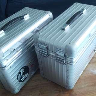 Exclusive Rimowa Motorbike Side Boxes