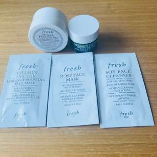 FRESH skincare set