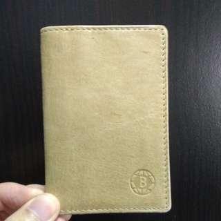 全新 baron leather卡片套
