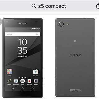 SONY xperia z5 compact (免運)