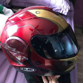 HJC IS-17 ironman helmet