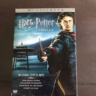 Harry Potter DVD box year 1-4