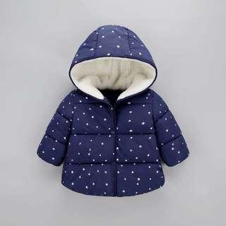 🚚 120公分兒童保暖外套