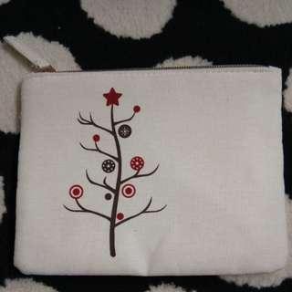 Kanvas pouch (broken white)