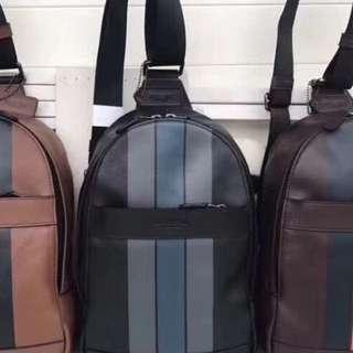 Authentic Coach men sling bag crossbody bag Handbag