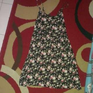 dress batik katun adem M