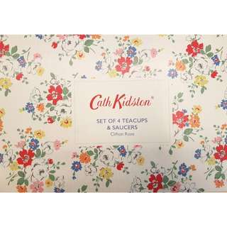 Cath Kidston - 4sets of cups and saucer