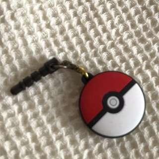 Pokemon Pokeball Audio Plug Phone Accessory (iPhone/ Android/ iPod)