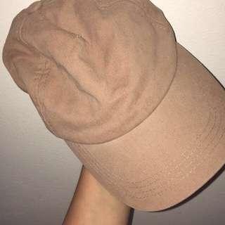 Caramel colour hat